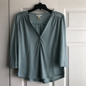 H&M 3/4 Length Sleeve Top